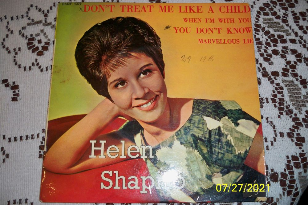 HELEN SHAPIRO 45T 7 Sucy-en-Brie (94)