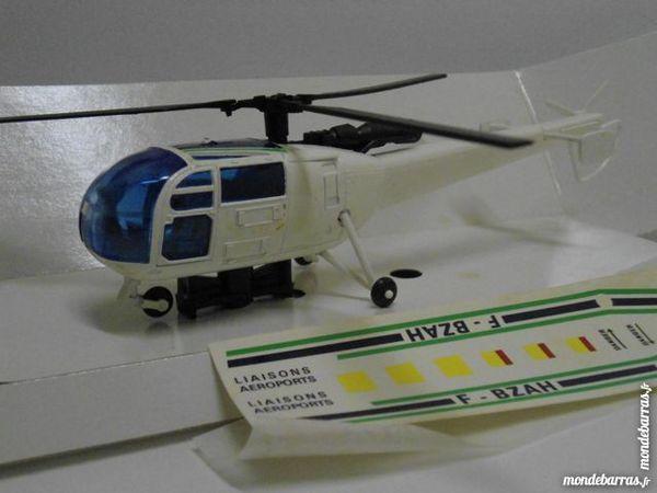 Hélicoptère Alouette III Aéroport de Paris 32 Follainville-Dennemont (78)