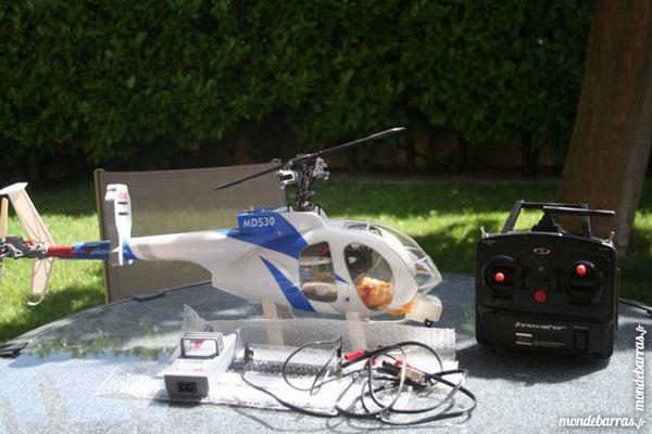 hélicoptère radiocommandé électrique thunder tiger 240 Caissargues (30)