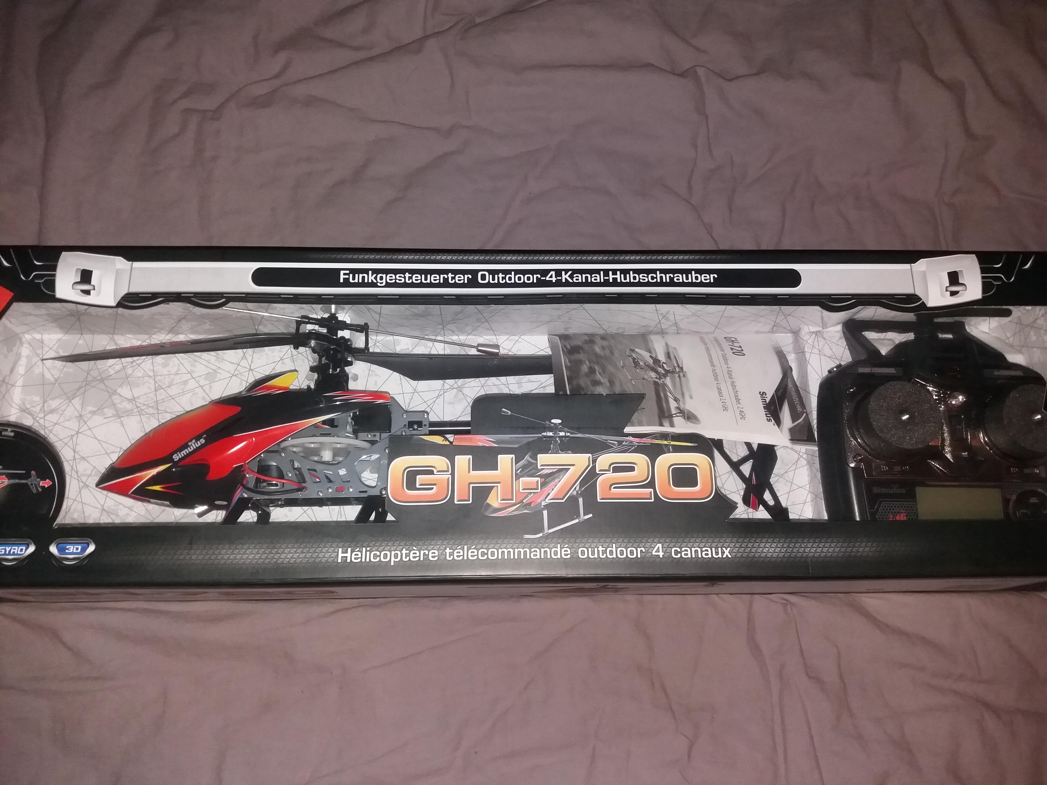 Hélicoptère rc 72 cm 40 Mouy (60)