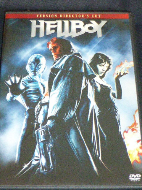 HELLBOY DVD et blu-ray