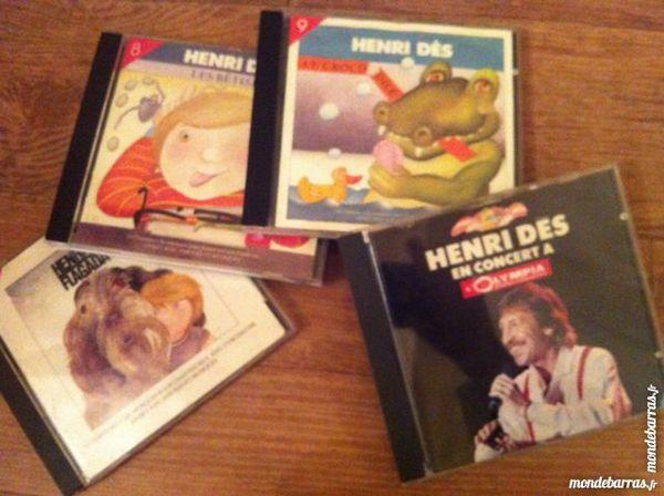 4 CD HENRI DES POUR ENFANTS 16 Boulogne-Billancourt (92)