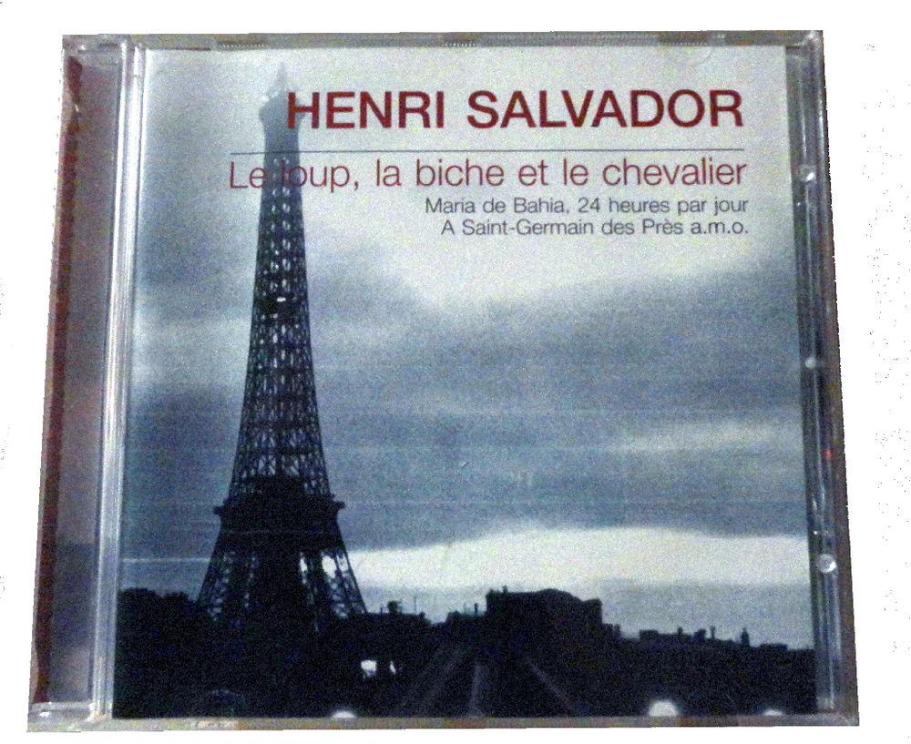 CD HENRI SALVADOR le loup, la biche et le chevalier 5 Mazingarbe (62)