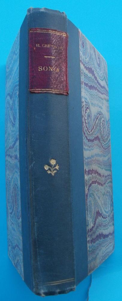Henry GREVILLE : SONIA Livre relié de 1883 5 Montauban (82)