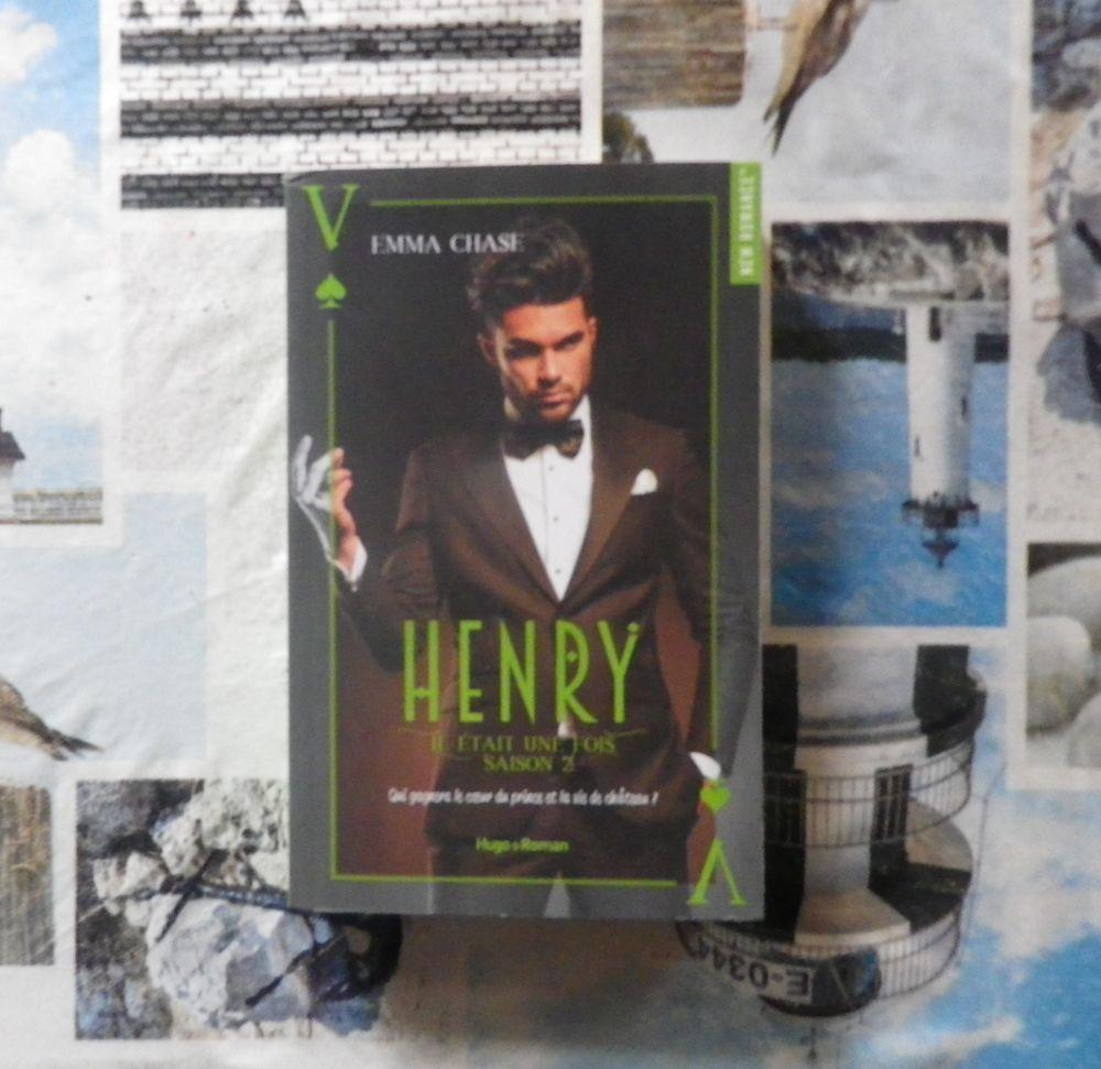 HENRY Saison 2 IL ETAIT UNE FOIS d'Emma CHASE Hugo New Roman 9 Bubry (56)