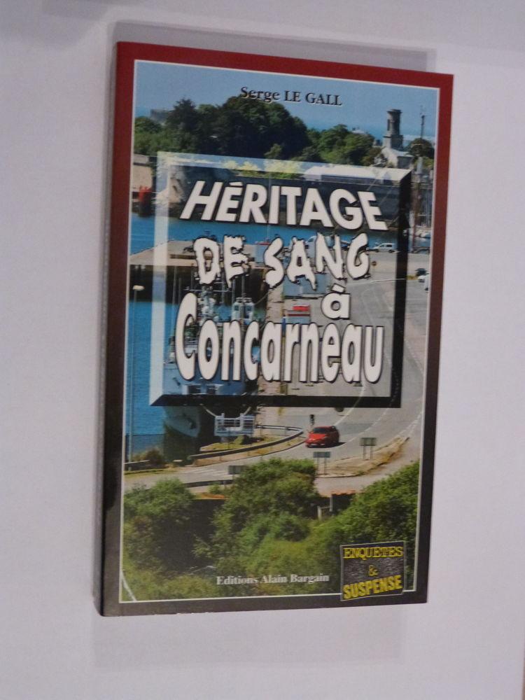 HERITAGE DE SANG A CONCARNEAU  roman policier  BRETON BARGAI 4 Brest (29)