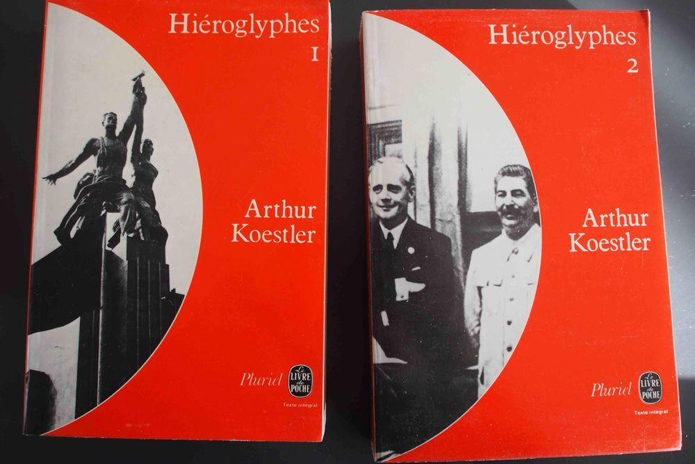 HIEROGLYPHES 1 et 2 Arthur Koestler, 18 Rennes (35)