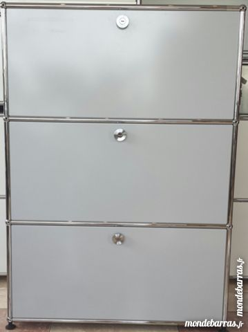 Highboard ou commode gris ultra clair usm haller 1080 Chenoise (77)