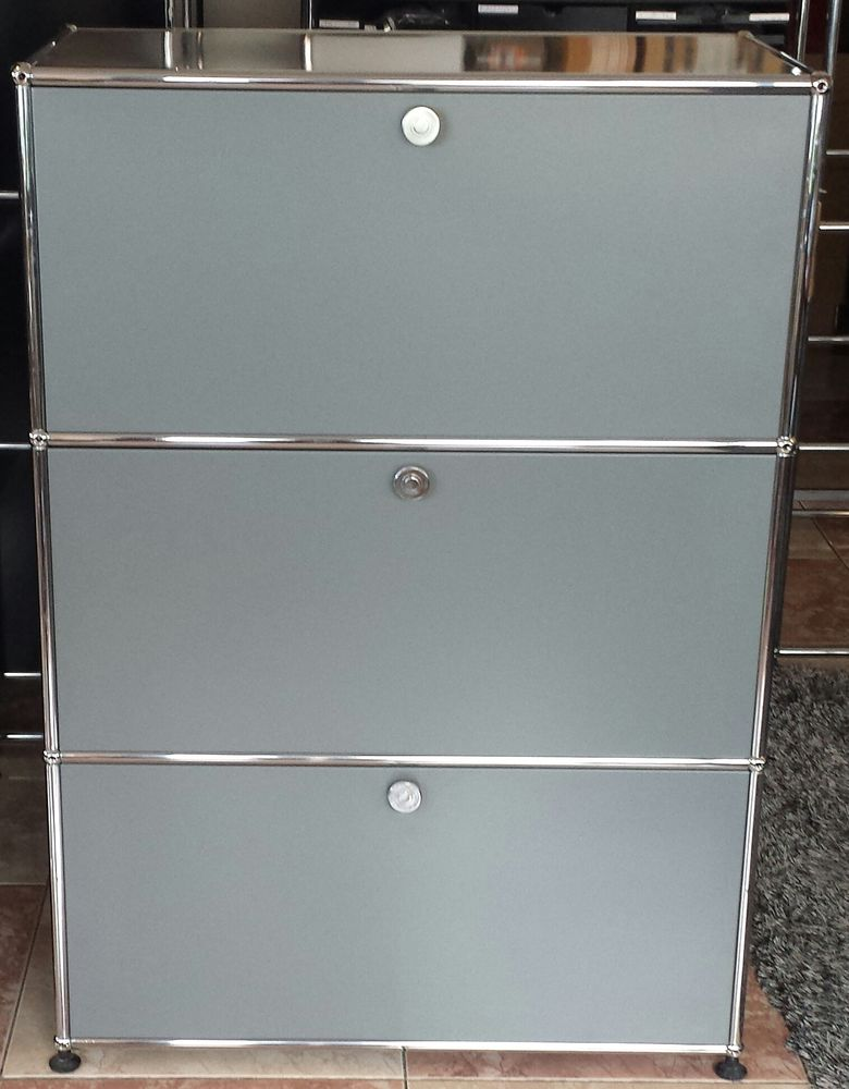 highboard rangement classement usm haller gris anthracite 1280 Provins (77)