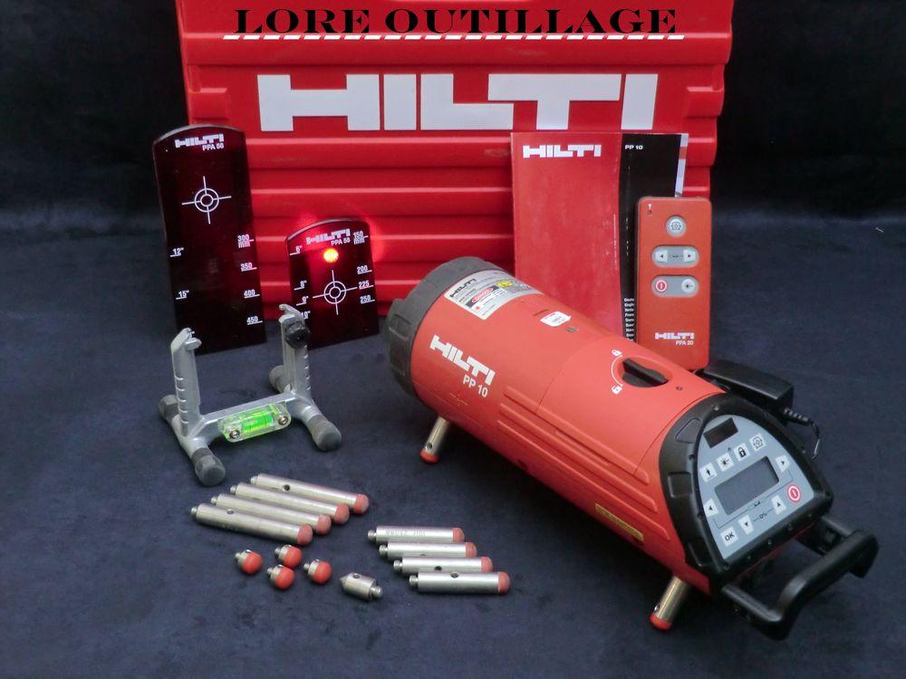 HILTI PP 10 - Laser de canalisation 3790 Cagnes-sur-Mer (06)