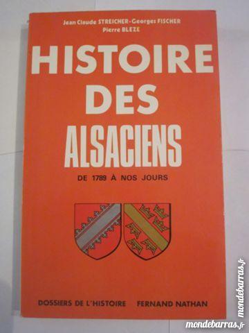 HISTOIRE DES ALSACIENS N°2 DE 1789 à nos jours Livres et BD