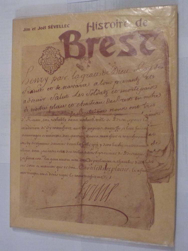 HISTOIRE DE BREST  par  JIM ET JOEL SEVELLEC 35 Brest (29)