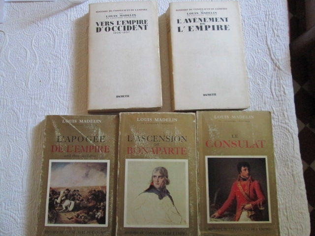 Histoire du Consulat et de l'Empire 5 Herblay (95)