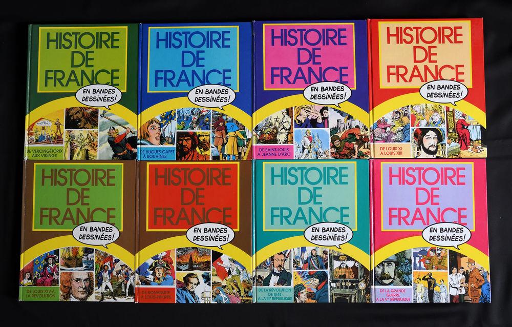 HISTOIRE DE FRANCE EN BANDES DESSINÉES - 8 VOLUMES 35 Mouans-Sartoux (06)
