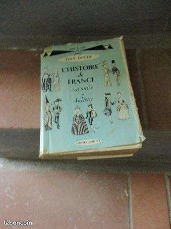 Histoire de France de Jean Duche 15 Mérignies (59)