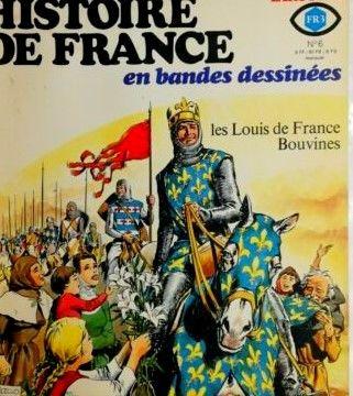 histoire de france en BD 1 Caluire-et-Cuire (69)