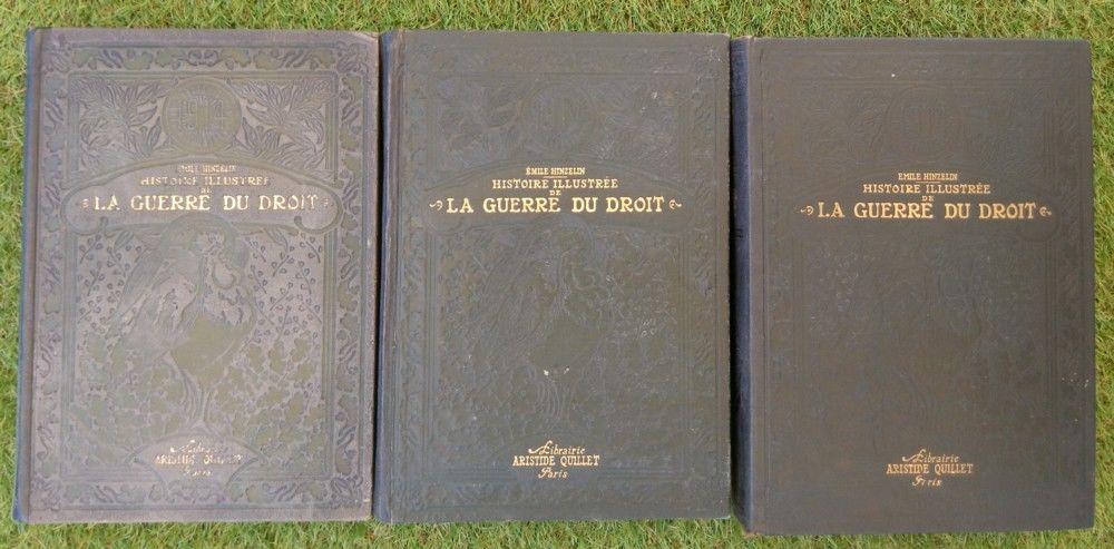 Histoire illustrée de la guerre du droit d'E. Hinzelin, 1916 90 Saint-Gildas-de-Rhuys (56)