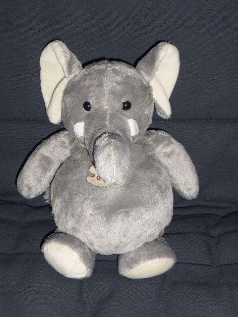Histoire d'ours - Doudou éléphant assis 23 cm 7 Rueil-Malmaison (92)
