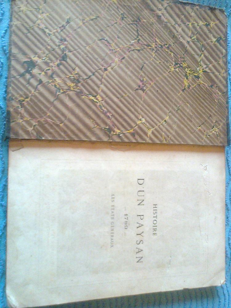 HISTOIRE D'UN PAYSAN- ERCKMANN-CHATRIAN 1789-1815 Livres et BD