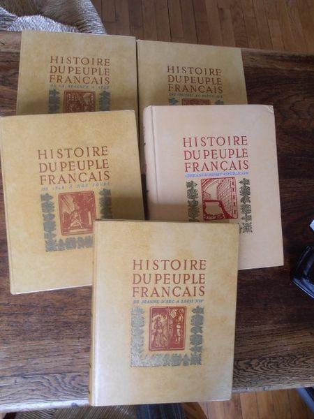 Histoire du peuple français 5 tomes 30 Brive-la-Gaillarde (19)