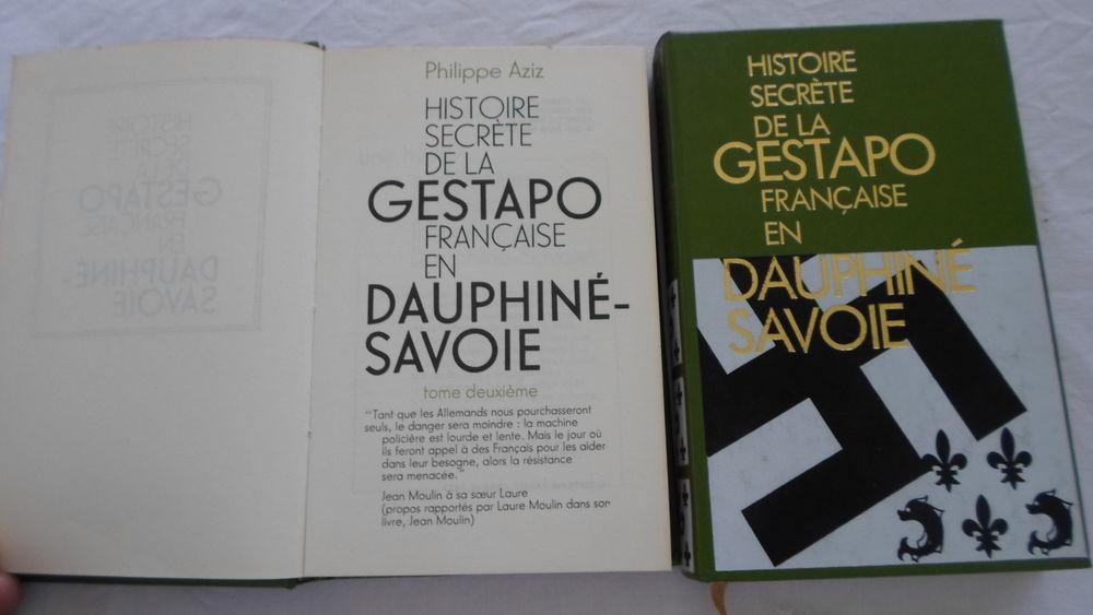 Histoire secrète Gestapo Française en Dauphiné - Savoie 8 Lorient (56)