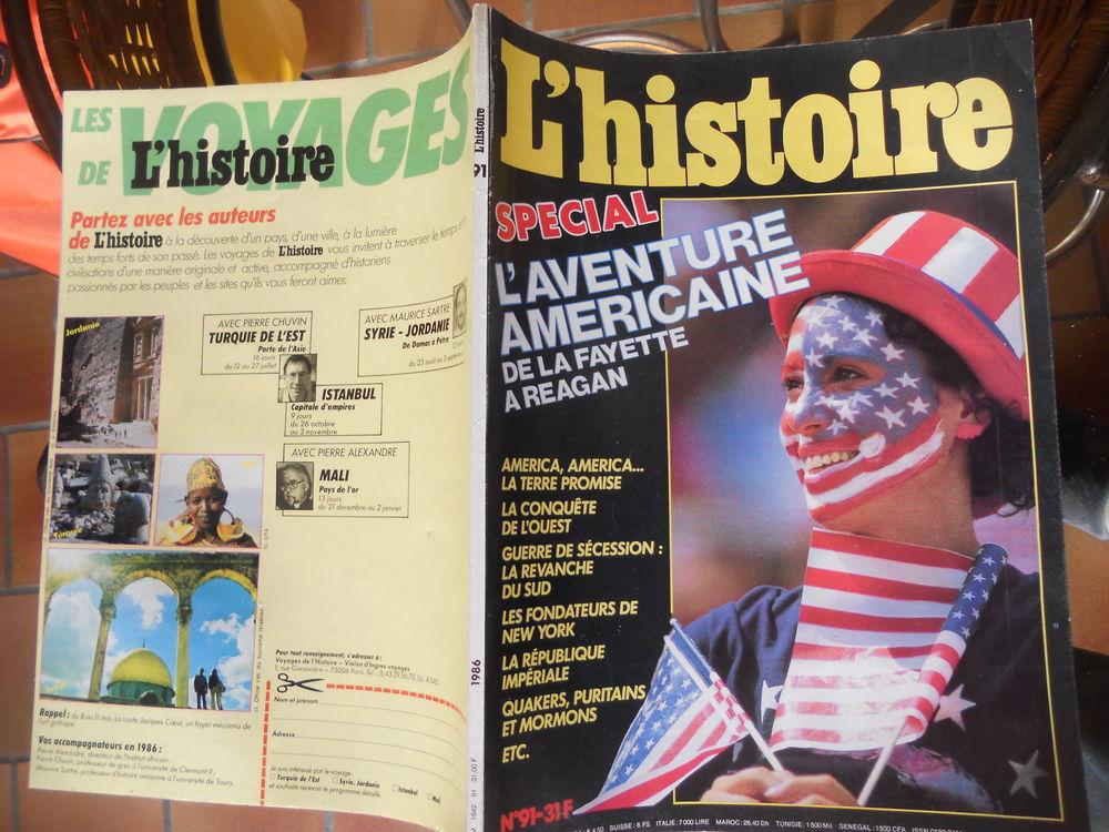 L'HISTOIRE SPÉCIAL L'AVENTURE AMÉRICAINE 1986 4 Tours (37)