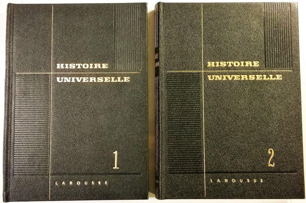 Histoire universelle en 2 volumes 10 Bougival (78)