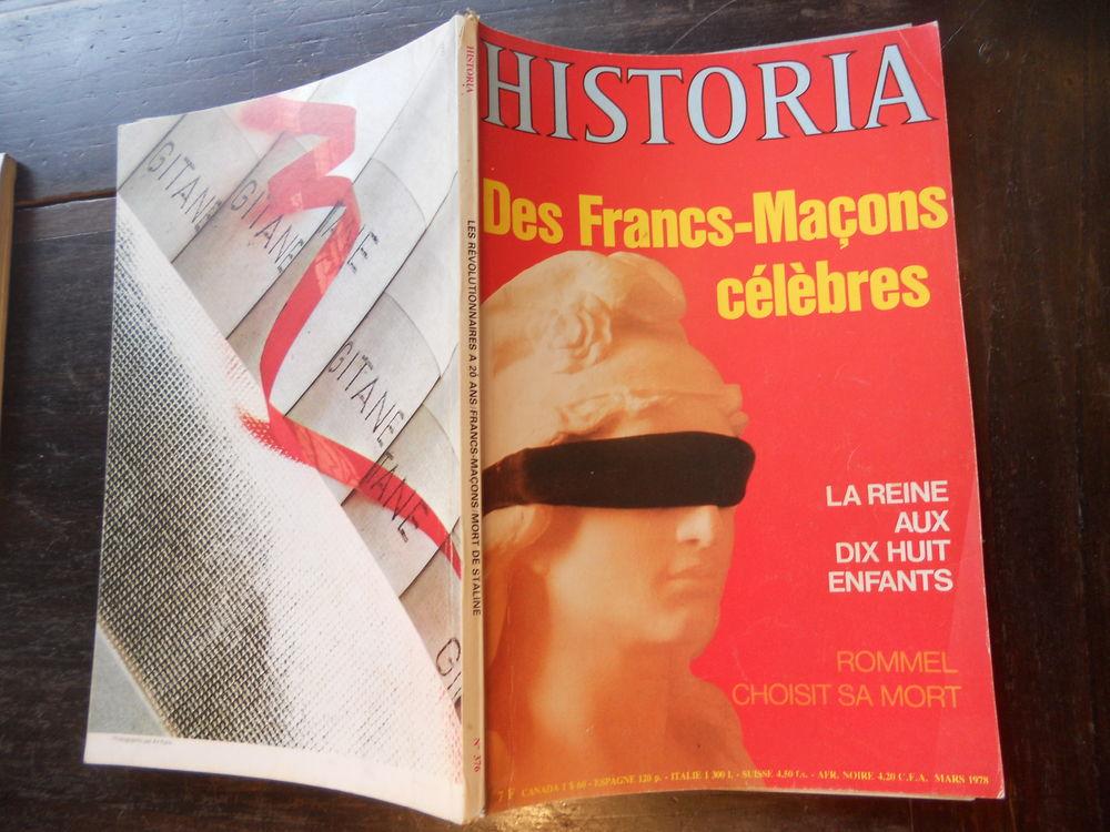 HISTORIA DES FRANCS-MAÇONS CÉLÈBRES No 376 de 1978 3 Tours (37)