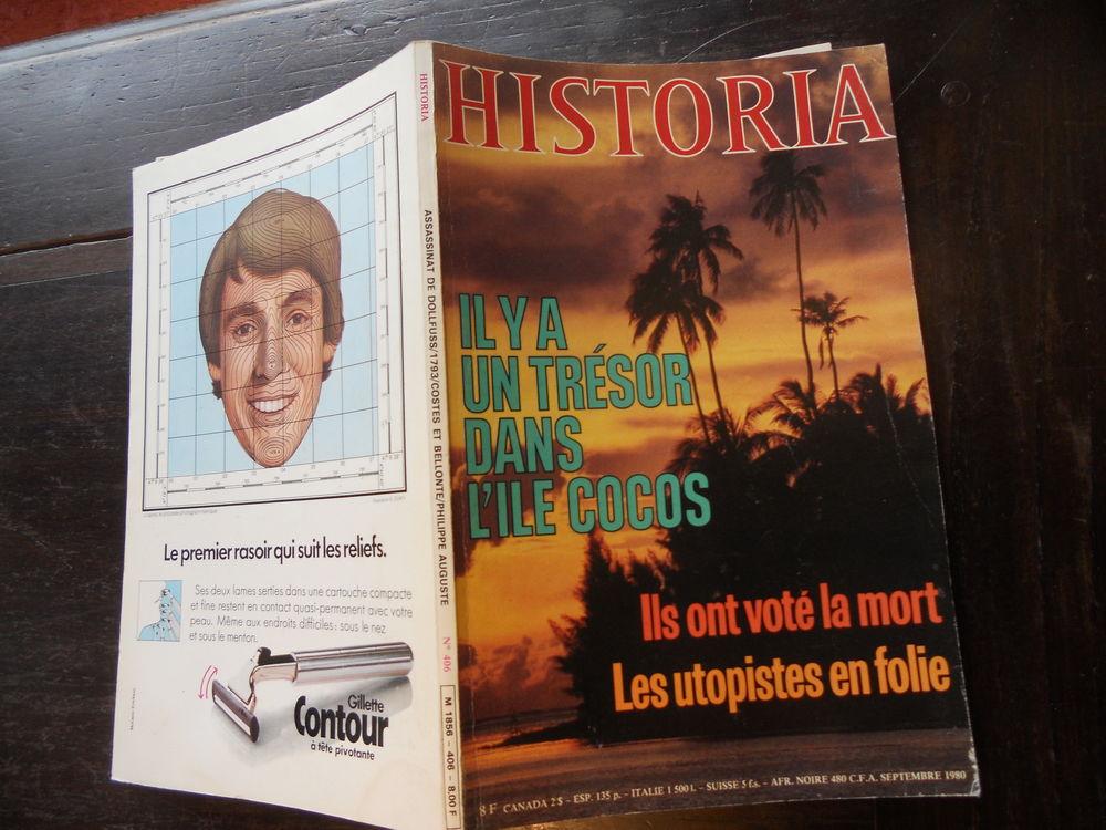 HISTORIA.IL Y A UN TRÉSOR DANS L'ILE COCOS No 406 de sept 80 Livres et BD