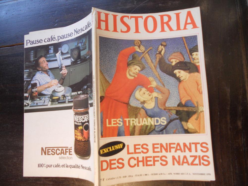 HISTORIA. LES TRUANDS. LES ENFANTS DES CHEFS NAZIS No 384 5 Tours (37)