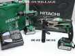 HITACHI DH 18DSL + DV 18DBEL