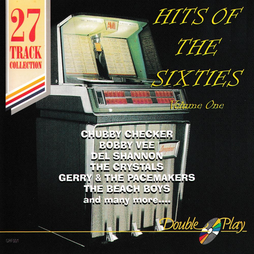 CD   Hits Of The Sixties.    Volume One    Compilation 5 Bagnolet (93)