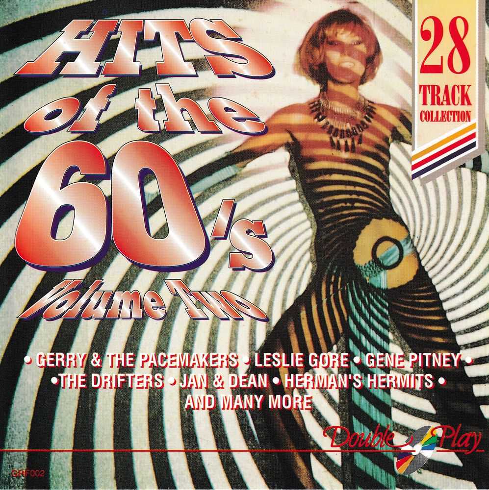 CD     Hits Of The 60's. Volume Two     Compilation 5 Bagnolet (93)