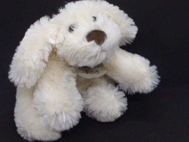 HO1387 doudou chien biscuit allongé crème Histoire d'ours 8 Rueil-Malmaison (92)