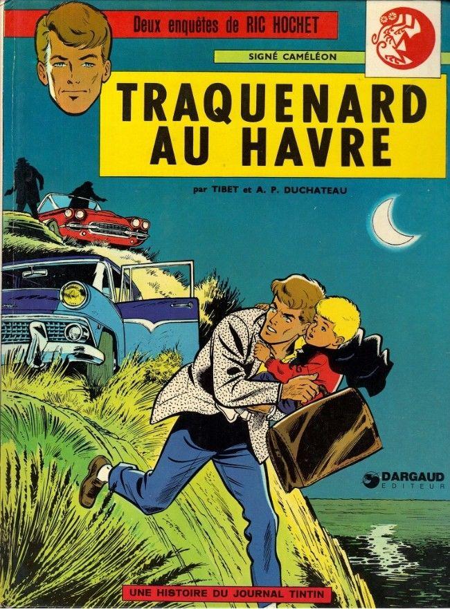 BD - Ric Hochet  1b1974 . Traquenard au Havre 20 Rosny-sous-Bois (93)