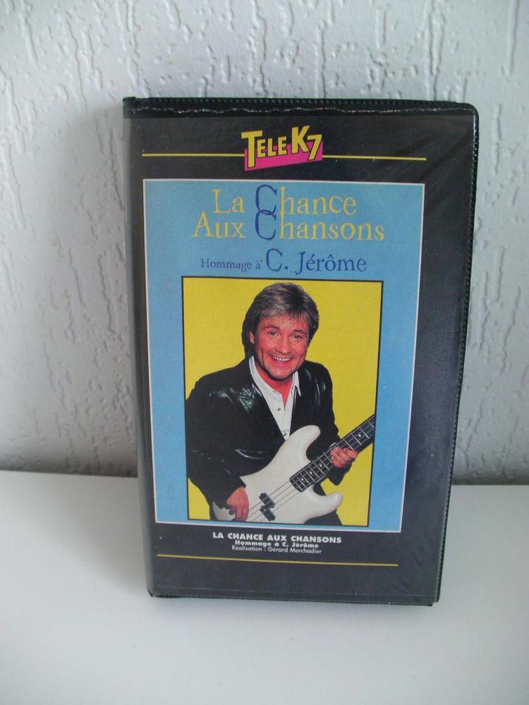 K7 VHS ou DVD HOMMAGE à C. JEROME (La CHANCE AUX CHANSONS) 3 Saint-Etienne (42)