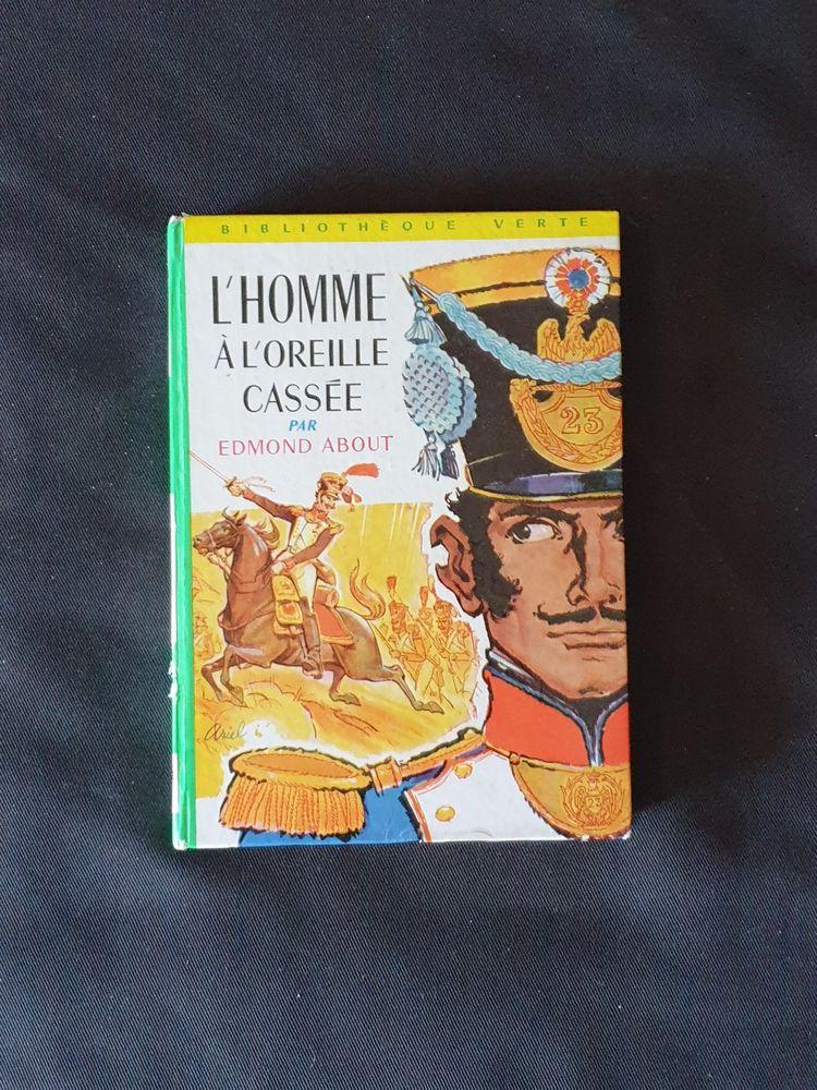 L'Homme à l'Oreille Cassée edmond about 1963 Marseille 9 eme Livres et BD