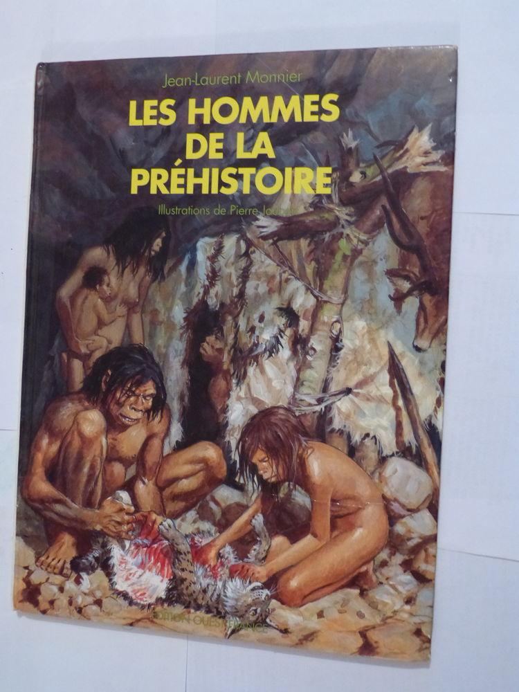 LES HOMMES DE LA PREHISTOIRE  illustrations  PIERRE JOUBERT 6 Brest (29)