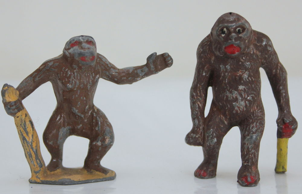 Hommes singes TARZAN figurines plomb anciennes 35 Issy-les-Moulineaux (92)