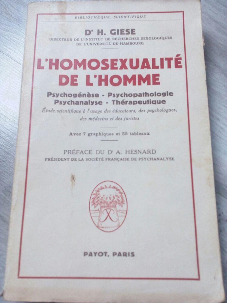 l'homosexualité de l'homme DR H.Giese 1959 55 Lisieux (14)