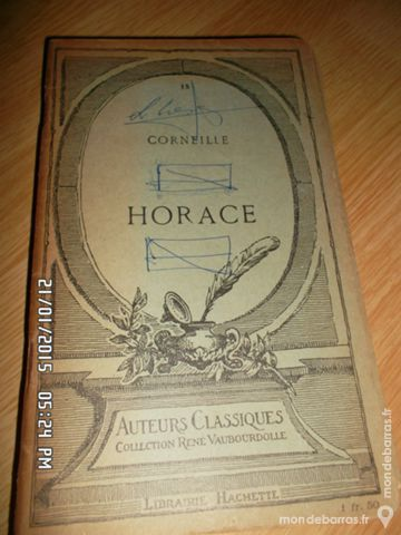 HORACE KIKI60230 Livres et BD