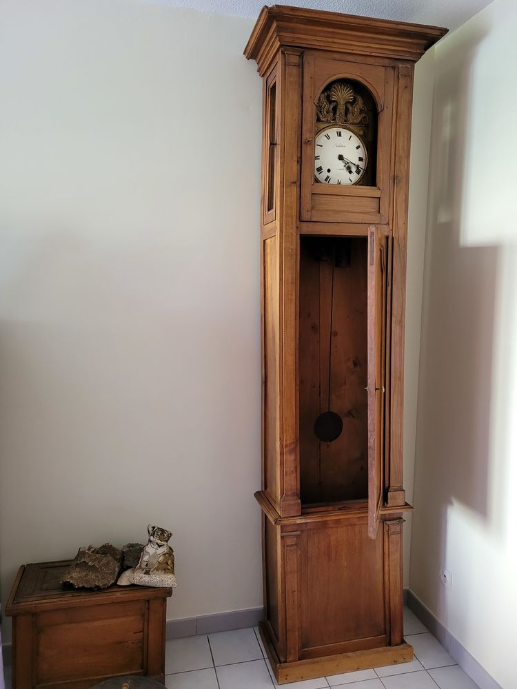 horloge ancienne comtoise  400 Aubagne (13)