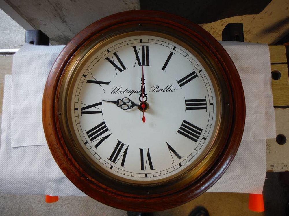 Horloge  Brillié  50 Villeneuve-le-Roi (94)