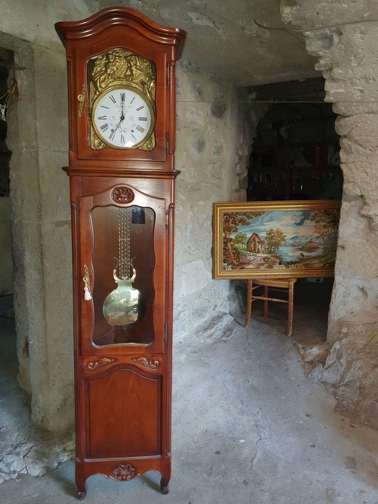 Horloge comtoise Odobez de Morez Jura 145 Lavilledieu (07)