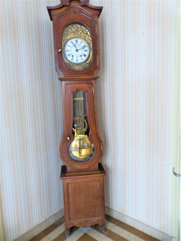 horloge comtoise   140 Octeville-sur-Mer (76)