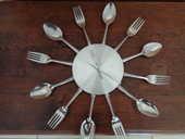 horloge ,décors  couverts ,(pour déco) (diam 38cm) 5 Ondres (40)