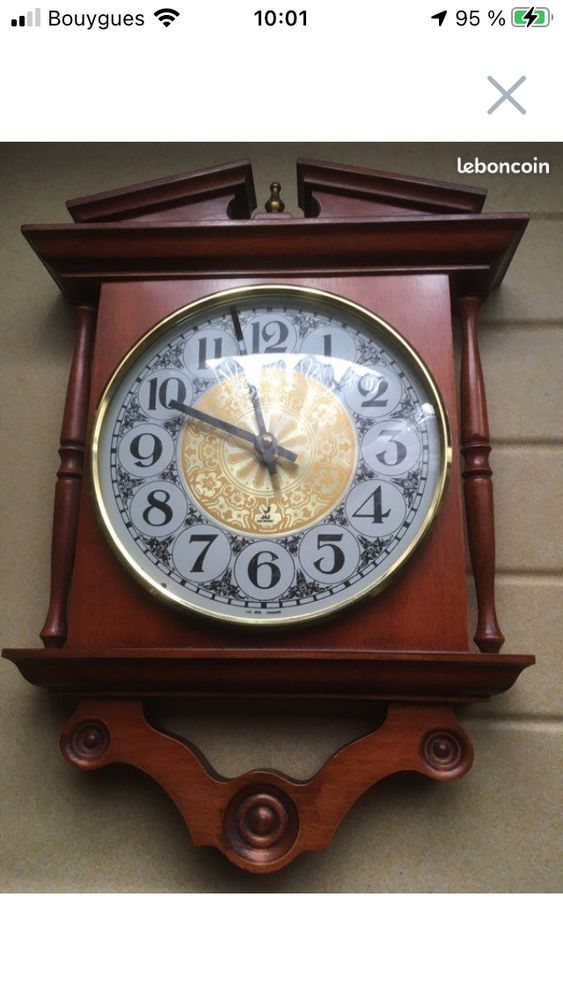 horloge merisier 20 Annezin (62)