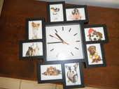 horloge moderne, état neuf,avec déco 8 cadres photos 10 Ondres (40)