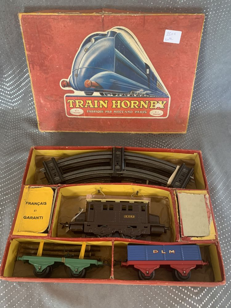 Lot N 2 HORNBY d'avant guerre, train mécanique PO Modélisme 269 Pierrelaye (95)
