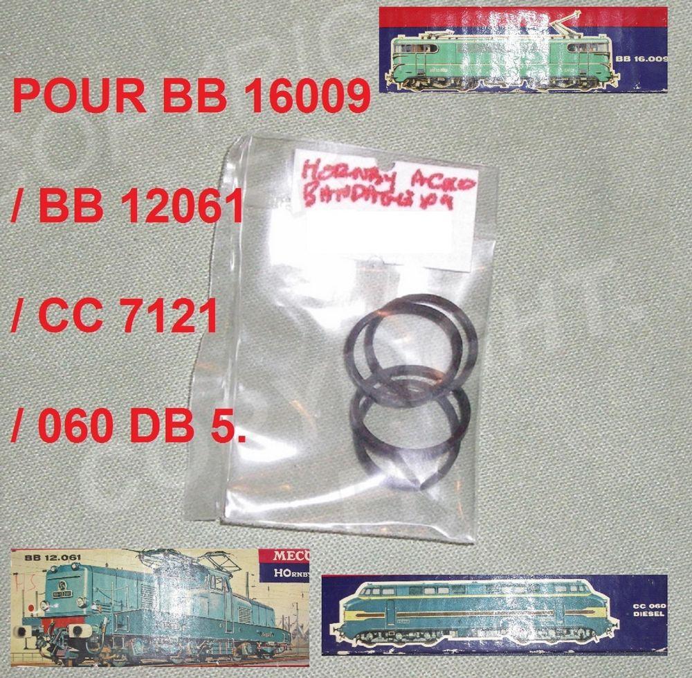 HOrnby 4 BANDAGES BB 16009,12061,060 DB 5,CC 7121 10 Sergines (89)